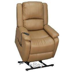 RecPro 30 RV Reclining Power Lift Chair Toffee Handicap Recliner 2 Chairs