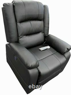 Recliner Chair Electric Power Lift Leather Massage Sofa