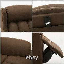 Recliner Elderly Chair Power Lift Reclining Padded Seat Modern Home Theater Sofa