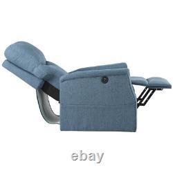 Recliner Electric Sofa Power Lift Aqua Chair Massage Heat Vibration Elderly Soft