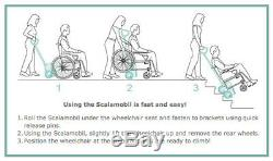 Scalamobil S27 stair-climbing wheelchair lift, portable chair power stairclimber