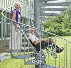Scalamobil S30 stair-climbing wheelchair lift, portable chair power stairclimber