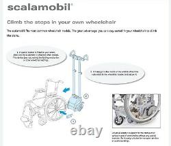 Scalamobil S30 stair-climbing wheelchair power lift, portable chair stairclimber