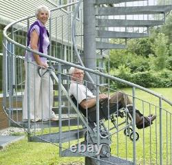 Scalamobil S30 stair-climbing wheelchair power lift, portable stairclimber chair