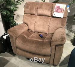 Serta Horizon 652 Perfect Comfort Big Man Large Lift Chair Power Recliner 500 lb