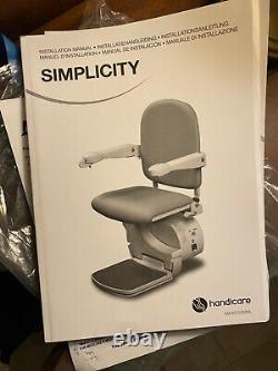 Simplicity power lift chair for stairs