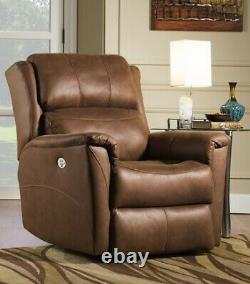 Southern Motion Shimmer Lay Flat Lift Recliner with Power Headrest and Dual Moto