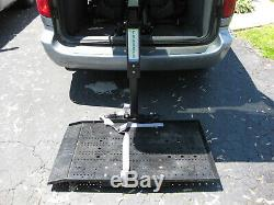 Tracker By Freedom Lift Scooter / Power Wheel Chair Lift For Vans Suv's