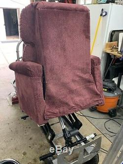 Used power lift recliner chair, Golden brand, comfort lift recliner, petite mode