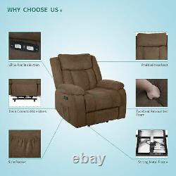 YITAHOME Electric Power Lift Massage Recliner Chair Sofa Heated USB with Remote